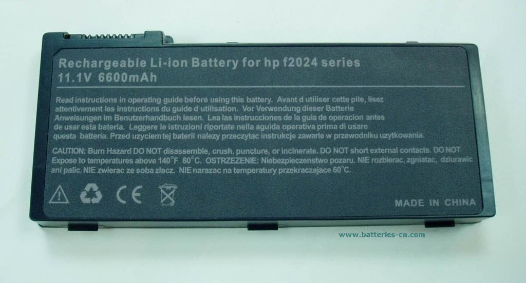 For HP Laptop Batteries