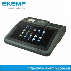 Android Touch POS Support 3G WIFI Barcode Scanner RFID Thermal Printer MSR