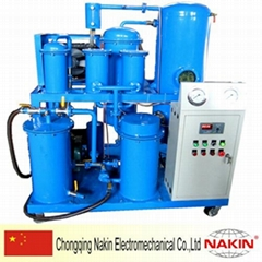 Vacuum Lubricating oil filtration