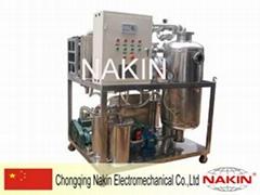 Phosphate ester fire-resistant oil filtration