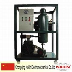 (Oil filtration optional parts) Vacuum pump system