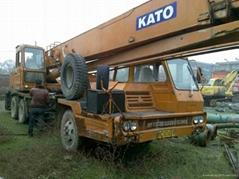 secondhand 30ton lifting cargo truck crane with good condition