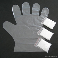Disposables PE Gloves in pair