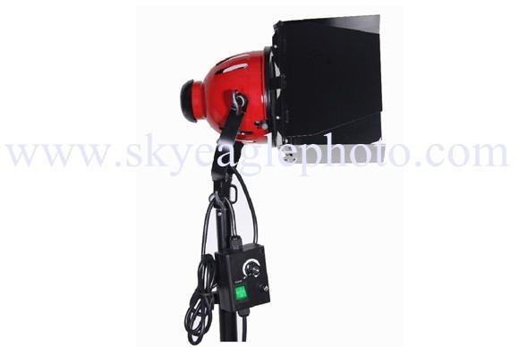 Spot lighting with dimmer(red head tungsten galogen light) 1