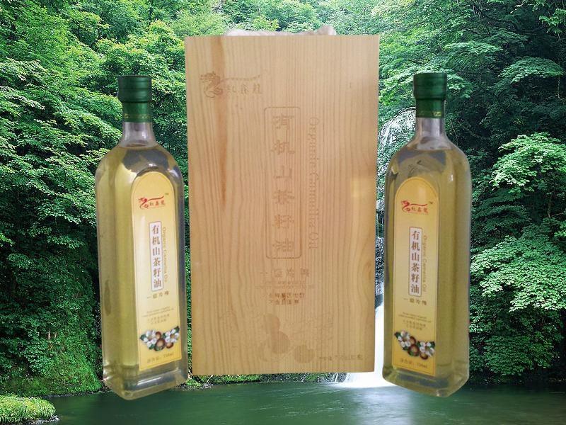 香港红鑫龙牌有机山茶油/ 1