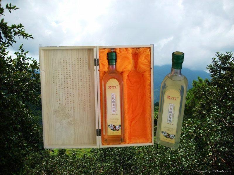 香港红鑫龙牌有机山茶油/ 3