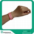 RFID clubs theme parks access control tyvek wirstbands 1