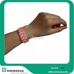 RFID clubs theme parks access control tyvek wirstbands