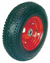Pneumatic tyre,Rubber wheel,Barrow wheel,Air Wheel: PR1615 (16 X 4.50-8)