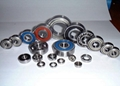 7200B. TVP, 7300B. TVP Series Single Row Angular Contact Ball Bearing