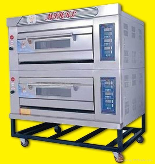 二层四盘燃气烤箱 1