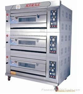 二层四盘燃气烤箱 3