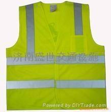 济南交通安全反光背心,济南反光雨衣