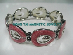 Magnetic bead health bracelet