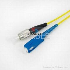 Simplex FC-SC patch cord