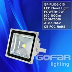 10-100w led flood light