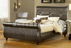 豪华美式床组