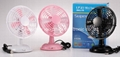 usb stand battery operated plastic fan