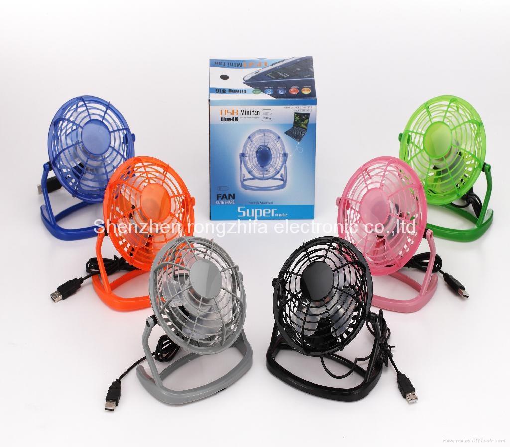 4 inch usb mini fan 2