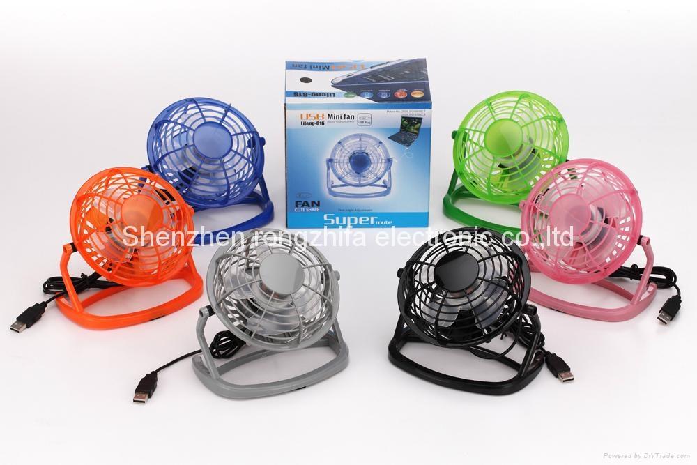 4 inch usb mini fan 4