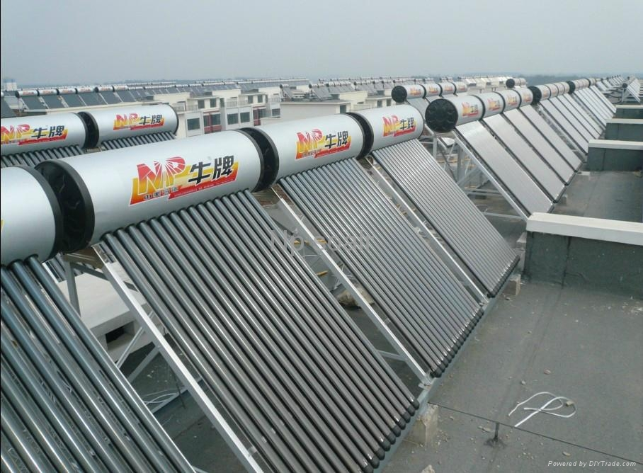 Solar water heater 3
