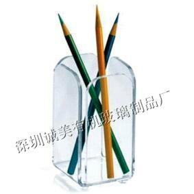 水晶精美笔筒笔架 2