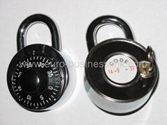 combination padlock with a masterkey override