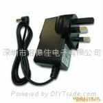 英国9V12V1A电源适配器充电器