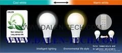 一般球泡燈系列*遙控調色調光型