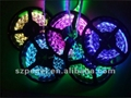 Decorative holiday lighting 12V 5050 RGB flexible strips 30leds/m