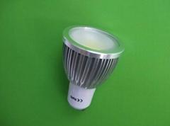 5w COB energy saving  led spotlight GU10/MR16/E27