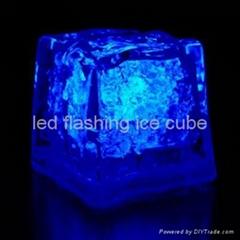 square led flashing ice cube