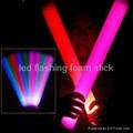led flashing foam/glow stick 4
