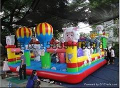 鄭州pvc充氣城堡