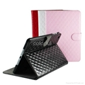 fashion style leather case cover for ipad mini (Hot Product - 3*)