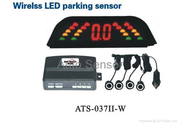 LED wireless parking sensor system 1