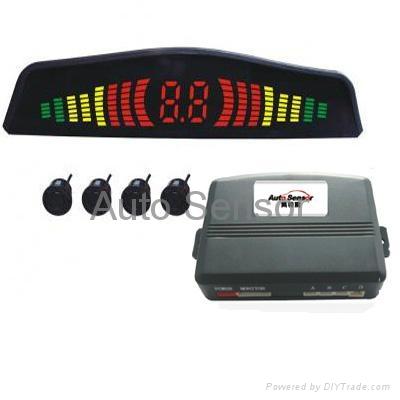 LED parking sensor system 1