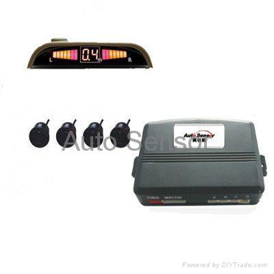 car alarm system LED parking sensor 1