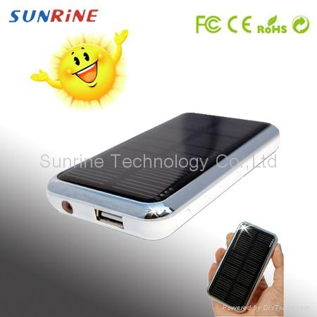 Solar charger for iphone ipad mobile phones PDA GPS PSP NDSI 4