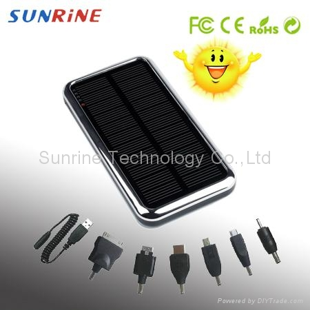 Solar charger for iphone ipad mobile phones PDA GPS PSP NDSI 1