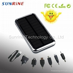 Solar charger for iphone ipad mobile phones PDA GPS PSP NDSI