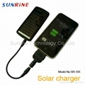 Solar power charger for Iphone ipod ipad PDA blackberry Nokia Motorola Samsung