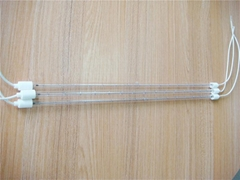 infrared halogen quartz glass heating tube