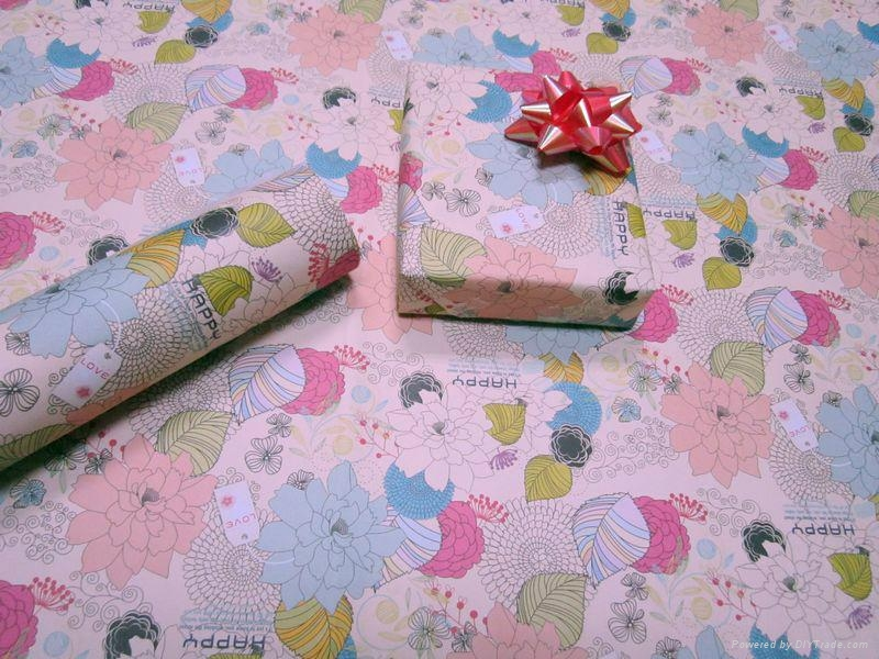 Chrismast Wrapping Paper 3