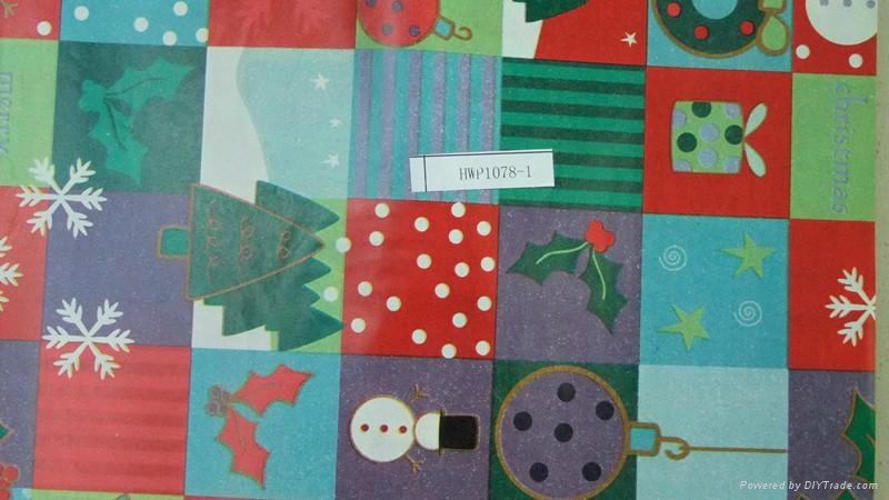Chrismast Wrapping Paper 4