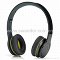 Cheap A  Soloed HD headset high resolution sound earphone headphones