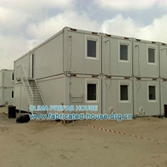 Mining camp containers