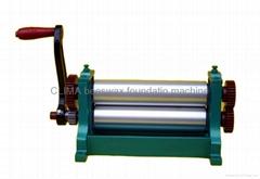Manual beeswax table press machine