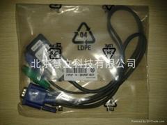 惠普8口kvm線纜