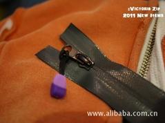Victoria pattern series Water repellent zipper